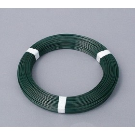 Fil de tension extrudé plastifié vert 2.4