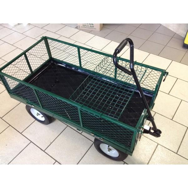 chariot de jardin grillagee 4 roues gonflables fauroux. Black Bedroom Furniture Sets. Home Design Ideas